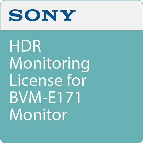 Sony HDR monitoring - License