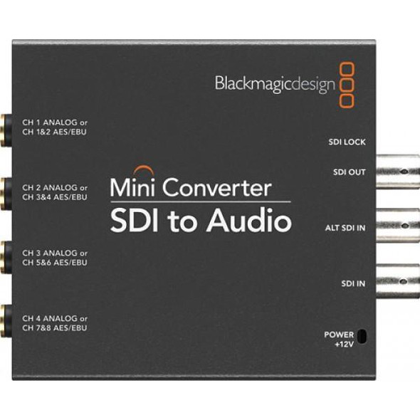 Blackmagic Design CONVMCSAUD Mini Converter SDI to Audio