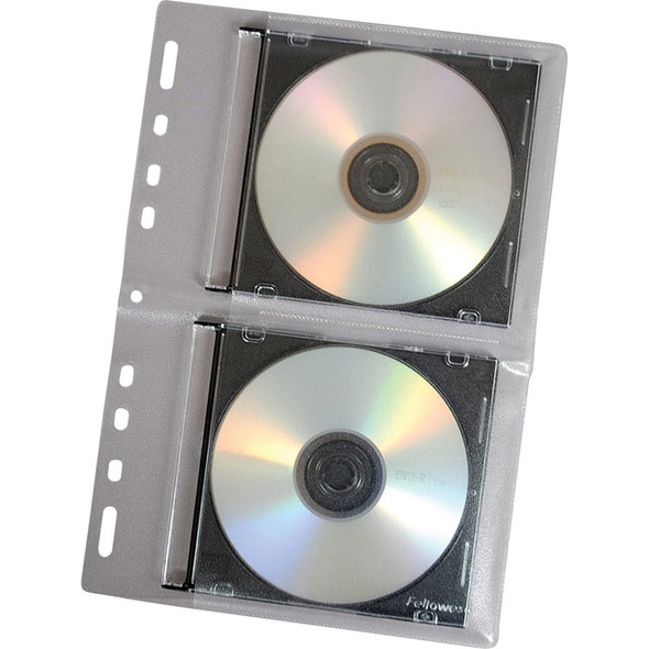 Fellowes CD Binder Sheet - 10 pack - 95304