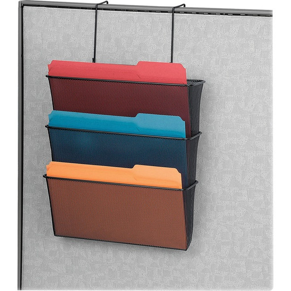 Fellowes Mesh Partition Additions Triple File Pocket - 75901