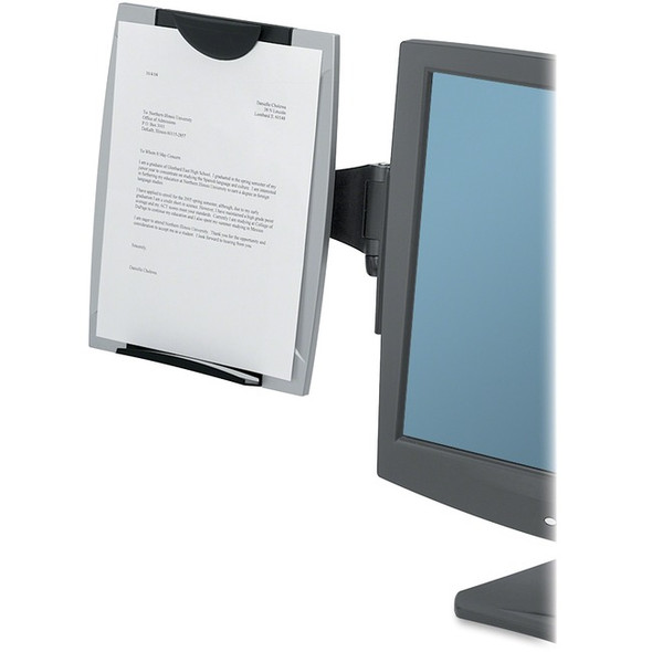 Fellowes Office Suites Monitor Mount Copyholder - 8033301