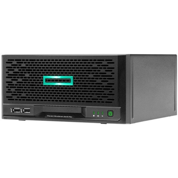 HPE ProLiant MicroServer Gen10 Plus Ultra Micro Tower Server - 1 x Pentium Gold G5420 - 8 GB RAM HDD SSD - Serial ATA/600 Controller - P16005-001