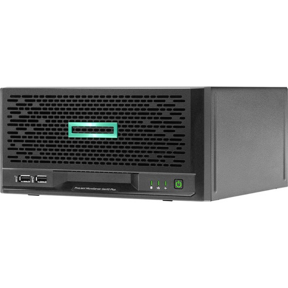 HPE ProLiant MicroServer Gen10 Plus Ultra Micro Tower Server - 1 x Xeon E-2224 - 16 GB RAM HDD SSD - Serial ATA/600 Controller - P16006-001
