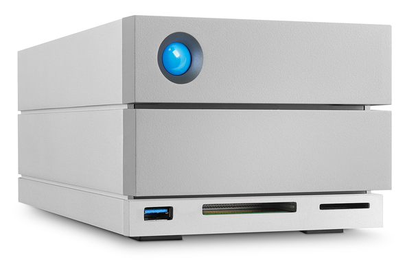 LaCie 2big Raid 8TB USB 3.1 Type C Thunderbolt 3 w/ Data Recovery Services