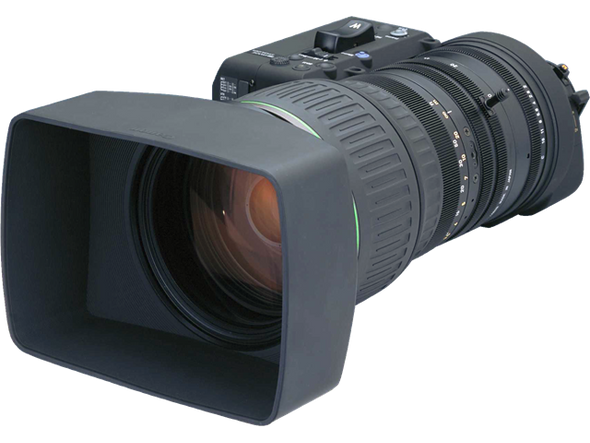 "Canon HJ40X14BIASDV Canon 2/3"" HDTV Super Tele zoom 40x15 w/2x Ext, Digital Drive, F Motor & IS with Full Servo kit and"