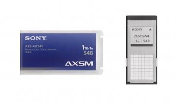 Sony A-Series AXS-A1TS48 - Flash memory card - 1 TB - for Sony AXS-CR1, AXS-R5, AXS-R7, CineAlta PMW-F5, PMW-F55, XDCAM PXW-FS7, PXW-FS7K