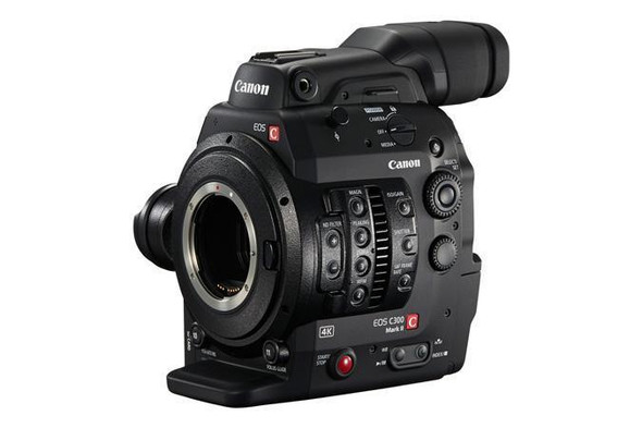 Canon EOS C300 Mark II 9.84MP Ultra HD 4K Digital Cinema Camcorder