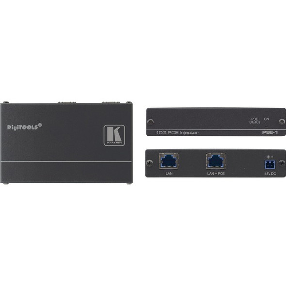 Kramer 10Gb UHD Power Over Ethernet Injector - PSE-1