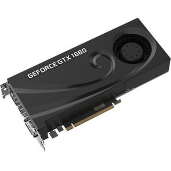 PNY GeForce GTX 1660 Graphic Card - 6 GB GDDR5 - VCG16606BLMPB
