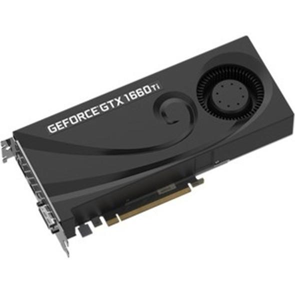 PNY GeForce GTX 1660 Ti Graphic Card - 6 GB GDDR6 - VCG1660T6BLMPB