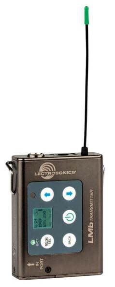 Lectrosonics Body pack wireless transmitter (B1: 537 to 614 MHz)