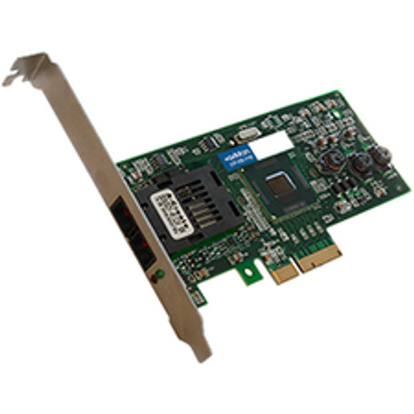 AddOn 100Mbs Single Open SC Port 2km MMF PCIe x1 Network Interface Card - ADD-PCIE-SC-FX-X1