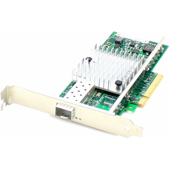 AddOn 10Gbs Single Open SFP+ Port Network Interface Card - ADD-PCIE-1SFP+