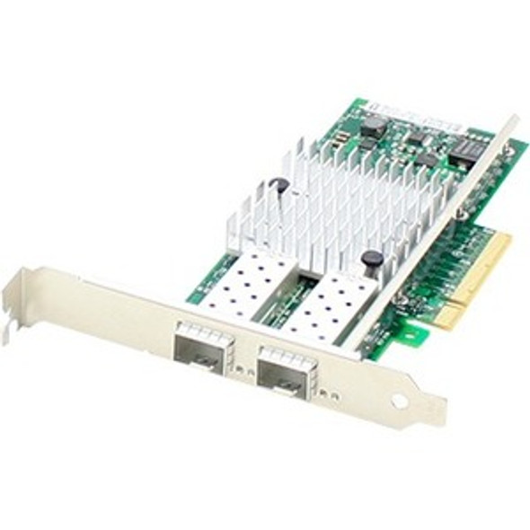 AddOn Dell 430-3815 Comparable 10Gbs Dual Open SFP+ Port Network Interface Card with PXE boot - 430-3815-AO