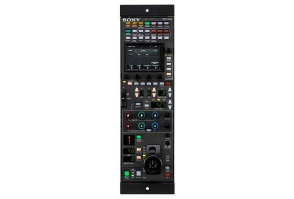 Sony RCP-1500 - Rack remote control panel - for Sony HDC-3500, HDC-P50, HXC-FB80, HXC-P70, XDCAM PXW-X320, PXW-X400, PXW-X500, PXW-Z450