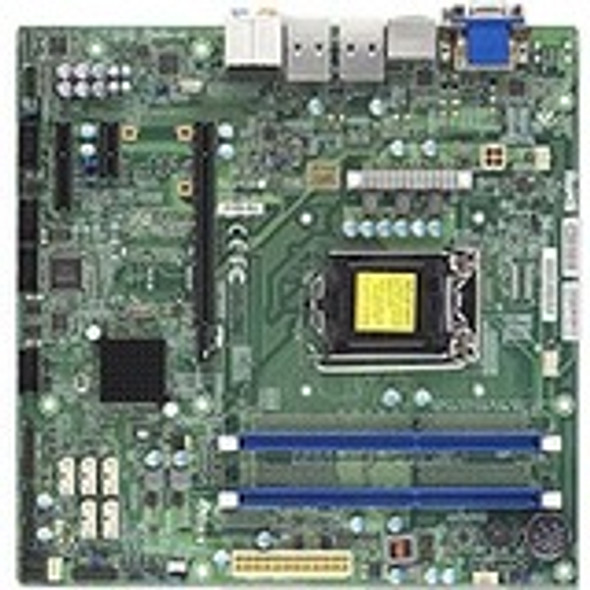 Supermicro X10SLQ-L Server Motherboard - Intel Chipset - Socket H3 LGA-1150 - MBD-X10SLQ-L-B
