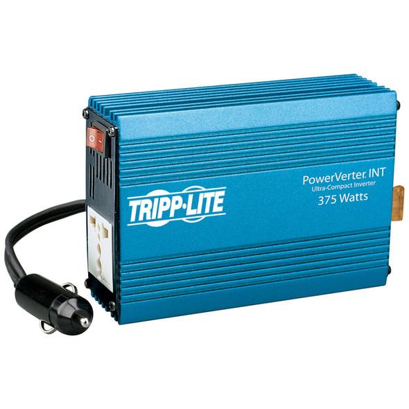 Tripp Lite International Ultra-Compact Car Inverter 375W 12V DC to 230V AC 1 Universal Outlet - PVINT375