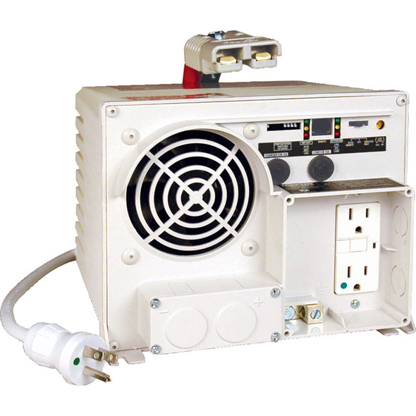 Tripp Lite 1250W Ambulance / EMS Inverter / Charger 12VDC 120VAC 14/55A 2 Outlets - EMS1250UL