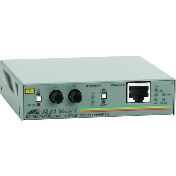 Allied Telesis AT-MC101XL-90 Fast Ethernet Media Converter - AT-MC101XL-90