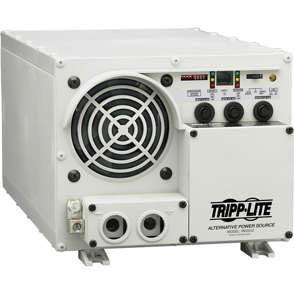 Tripp Lite 1500W RV Inverter / Charger with Hardwire Input / Output 12VDC 120VAC - RV1512UL
