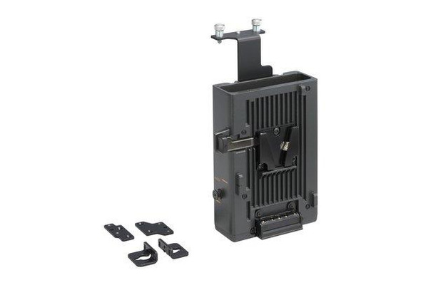 Sony CA-WR855 - Battery adapter plate / wireless microphone rceiver holder - for Sony PDW-700, PDW-F800, XDCAM PDW-850