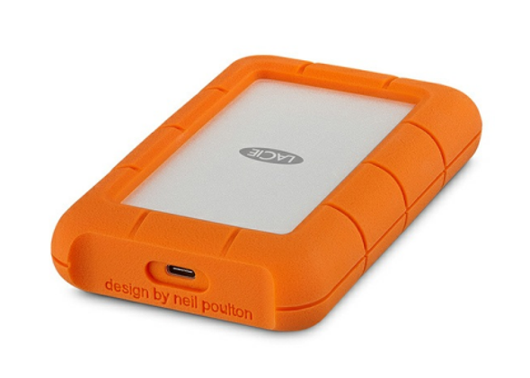 LaCie STFR1000800 1TB Rugged USB-C Mobile Storage Hard Drive