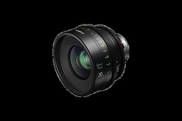Canon SUMIRE PRIME CN-E20mm T1.5 FP X (PL Mount) Lens