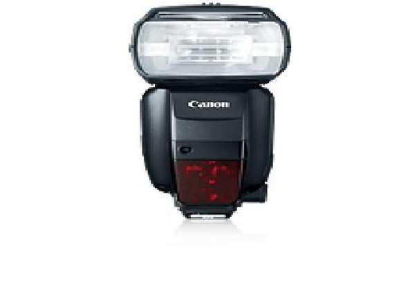 Canon Speedlite 600EX-RT Speedlite Flash, Maximum Guide No. of 196.9ft (for EOS DSLR)