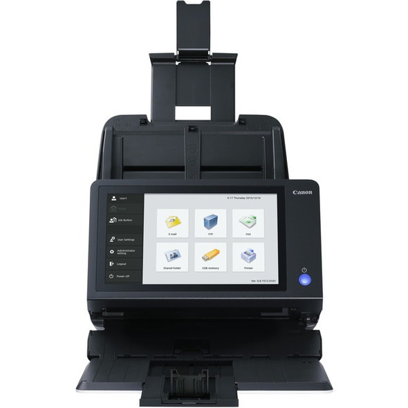 Canon ScanFront 400 Sheetfed Scanner - 600 dpi Optical - 1255C002
