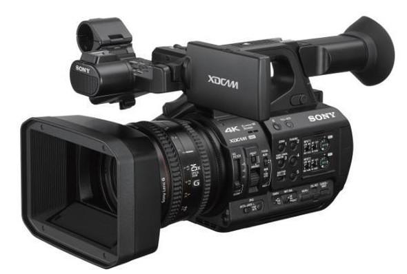 Sony XDCAM PXW-Z190 - Camcorder - 4K / 60 fps - 25x optical zoom - flash card -NFC, Wi-Fi