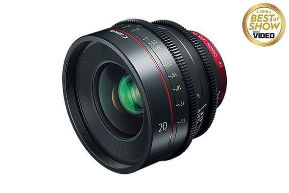 Canon 20mm Compact Cinema Camera Lens