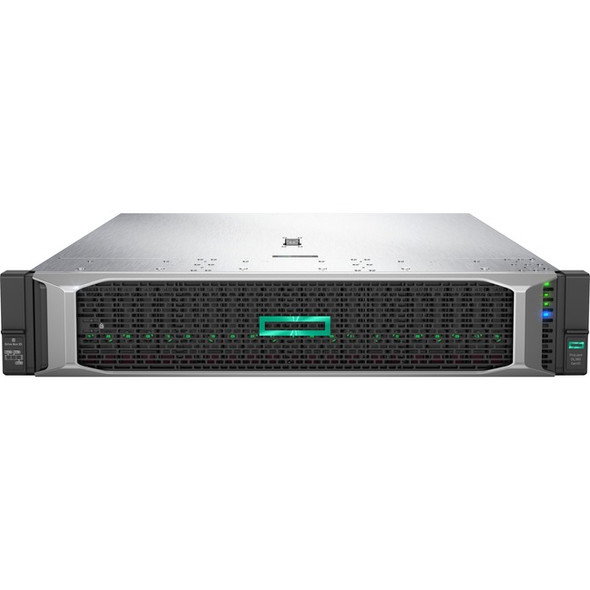 HPE ProLiant DL380 G10 2U Rack Server - 1 x Xeon Silver 4208 - 32 GB RAM HDD SSD - 12Gb/s SAS Controller - P02467-B21