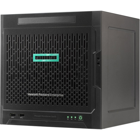 HPE ProLiant MicroServer Gen10 Ultra Micro Tower Server - 1 x Opteron X3216 - 8 GB RAM HDD SSD - Serial ATA/600 Controller - 873830-S01