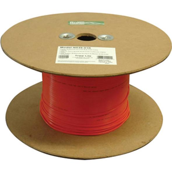 Tripp Lite 1000' Duplex Multimode 62.5/125 LSZH Fiber Optic Bulk Cable 1000ft - N549-01K
