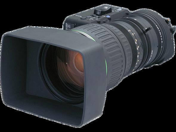 "Canon HJ40X10BIASDV Canon 2/3"" HDTV Super Tele zoom 40x10 w/2x Ext, Digital Drive, F Motor & IS with Full Servo kit and"