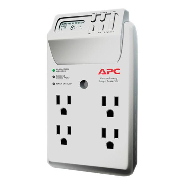 APC by Schneider Electric SurgeArrest Essential P4GC 4-Outlets Surge Suppressor - P4GC