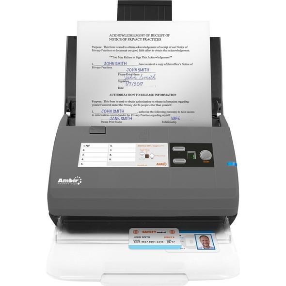 Ambir ImageScan Pro 830ix Sheetfed Scanner - 600 dpi Optical - DS830ix-AS