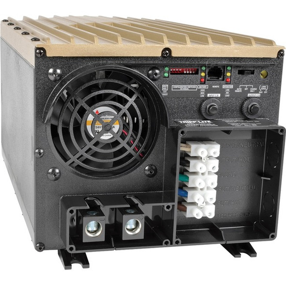 Tripp Lite 3600W APS 36VDC 120V Inverter / Charger w/ Auto Transfer Switching Line-Interactive AVR - APS3636VR