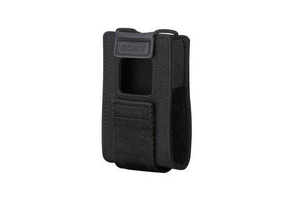Sony LCS-URXP2 - Holster bag for wireless receiver - for Sony URX-P03D, URX-P03D/14, URX-P03D/30, URX-P03D/42, URXP2/4244