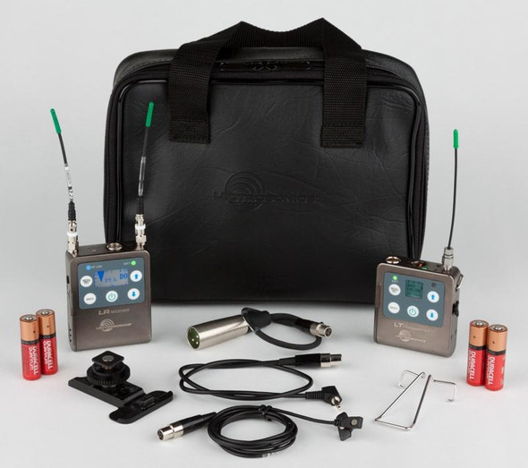 Lectrosonics LR receiver complete kit with LT transmitter (B1: 537 to 607 MHz)