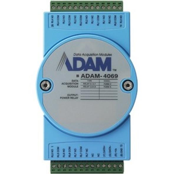 Advantech 8-ch Power Relay Output Module with Modbus - ADAM-4069-AE