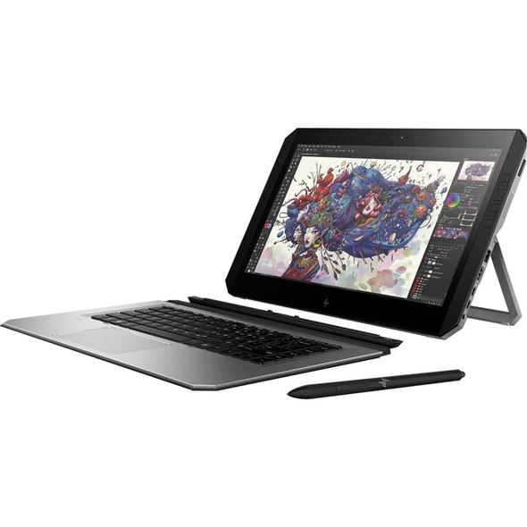 "HP ZBook x2 G4 14"" Touchscreen 2 in 1 Mobile Workstation - 3840 x 2160 - Core i7 i7-8550U - 16 GB RAM - 256 GB SSD - 3YF75UT#ABA"