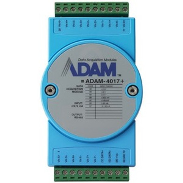 Advantech 8-ch Analog Input Module with Modbus - ADAM-4017+-CE