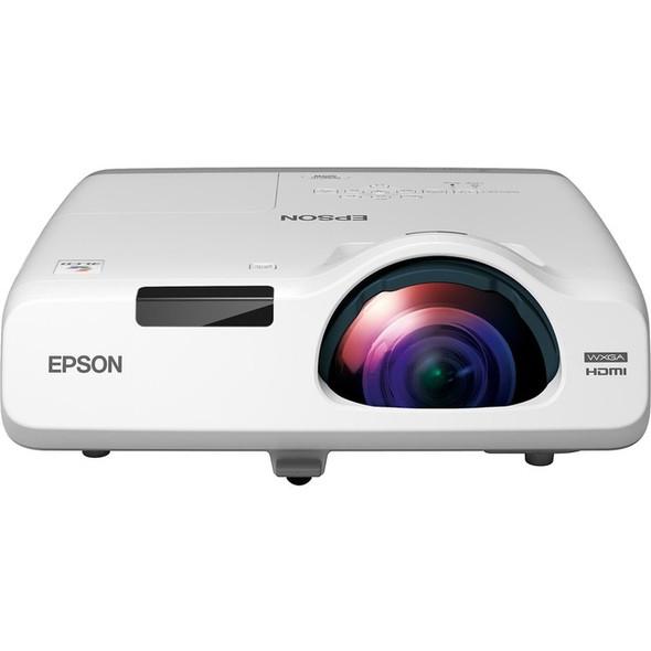 Epson PowerLite 525W Short Throw LCD Projector - 16:10 - White - V11H672020