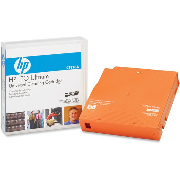 HPE LTO Ultrium Universal Cleaning Cartridge - C7978A