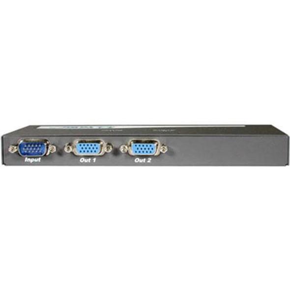 C2G 2-Port UXGA Monitor Splitter/Extender (Male Input) - 29550