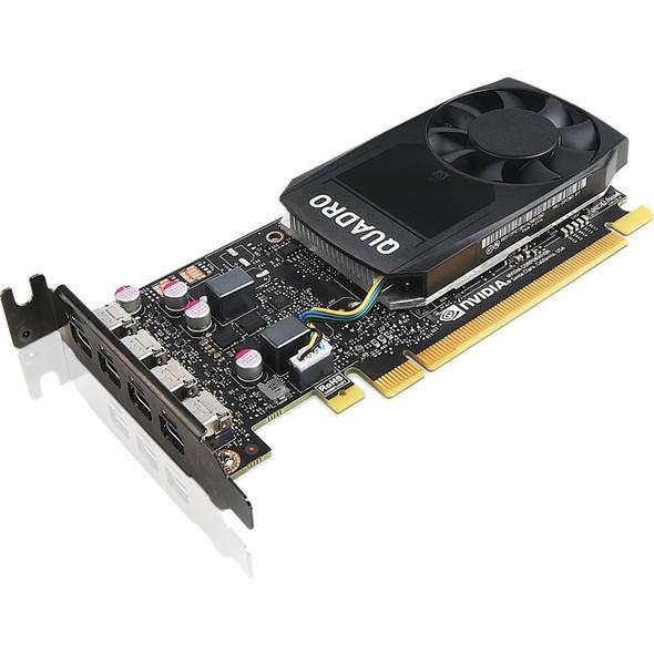 Lenovo Quadro P1000 Graphic Card - 4 GB GDDR5 - Low-profile - 4X60N86660