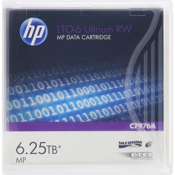 HPE LTO-6 6.25TB Ultrium RW Cartridge - C7976A