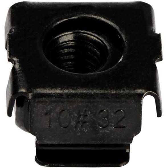10-32 Cage Nuts - 50 pack - Black (CABCAGENUTS1032) - CABCAGENUTS1032