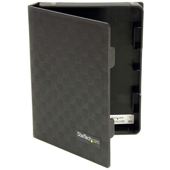 StarTech 2.5in Anti-Static Hard Drive Protector Case - Black (3pk) - HDDCASE25BK